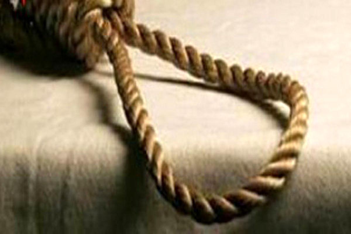 تازه داماد در آغوش طناب دار!