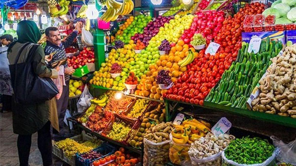 قیمت جدید انواع میوه فصل و سبزی