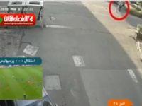 شیوه جدید سرقت گوشی در خیابان! +فیلم