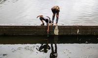 بحران محیط زیستی در تنها رودخانه اردبیل +عکس