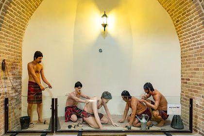 حمام معروف قجری با معماری ایرانی اسلامی +تصاویر