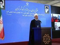 افتتاح خط 6مترو تهران با حضور روحانی +عکس