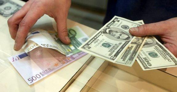 نرخ دلار در صرافیهای بانکی ۲۵۰تومان کاهش یافت