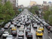 وضعیت ترافیکی معابر بزرگراهی پایتخت در هشتم دی ماه