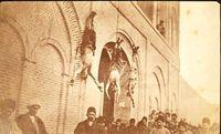 مجازات وحشتناک مجرمان در دوران قاجار +عکس