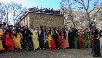 جشن نوروز در بزرگترین روستای استان کردستان +عکس