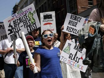 راهپیمایی در حمایت از علم در سراسر جهان