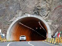 جاده هراز به سمت تهران بسته شد