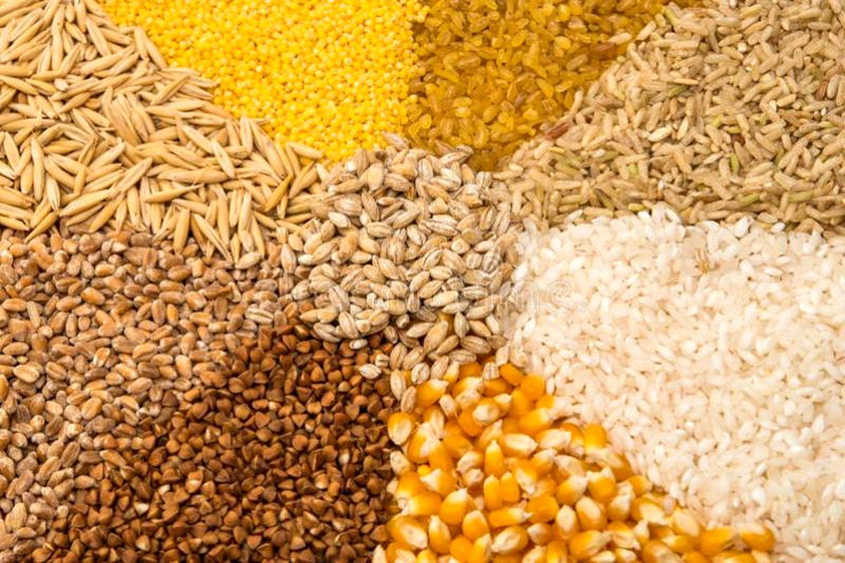 افق تولید، مصرف و موجودی غلات