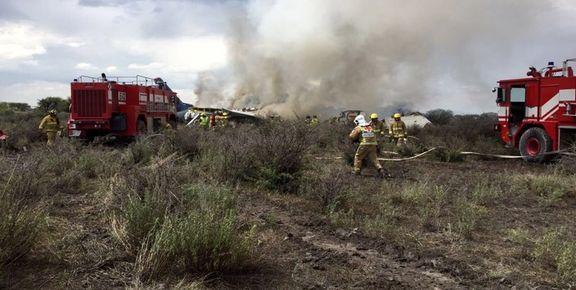 خروج پیکر ۹تن از جانباختگان حادثه هواپیما+تکمیلی