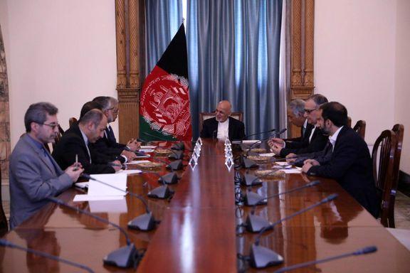سفر وزیر نیروی جمهوری اسلامی ایران به افغانستان