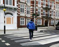 خط عابر سه بعدی در لندن +تصاویر
