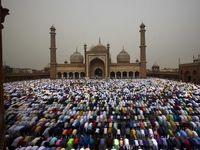 عید فطر در کشورهای مسلمان جهان +تصاویر