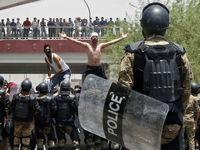 معترضان عراقی گذرگاه مرزی مشترک با ایران را بستند