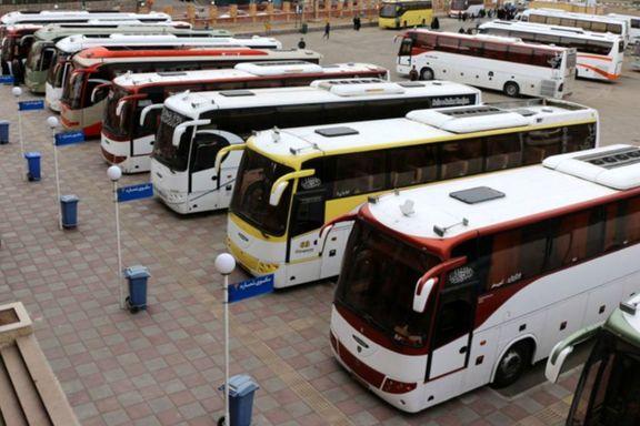هزینههای مرزی، نرخ کرایه اتوبوسهای اربعین را افزایش داد