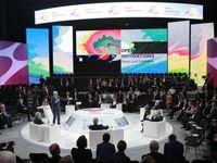 صدای انفجار و دود نشست نخست وزیر روسیه را متوقف کرد+ عکس