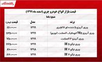 قیمت خودرو چری در بازار تهران +جدول