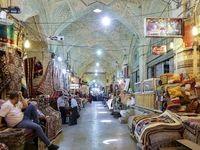 مشهورترین بازار ایران سوت و کور است +عکس