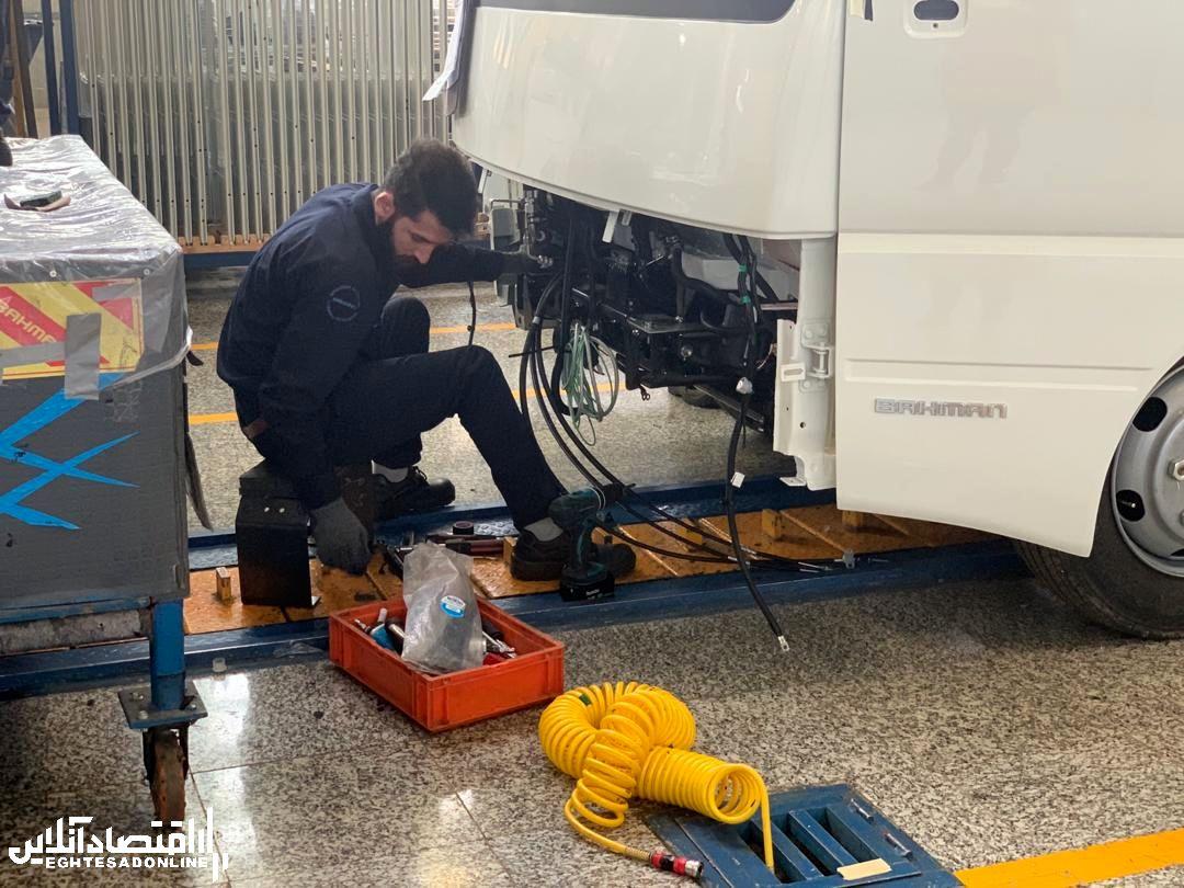 تولید انبوه کامیونت و مینیبوس شیلر