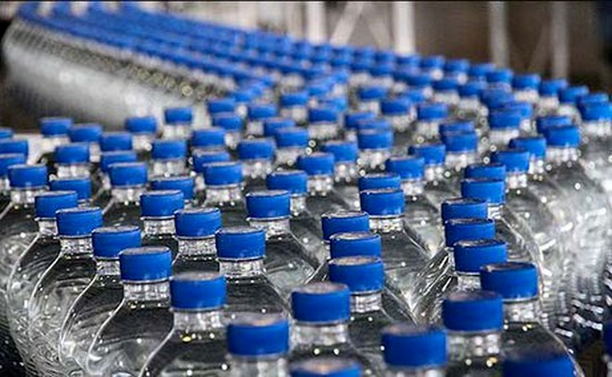 قیمت آب بسته بندی گران شد