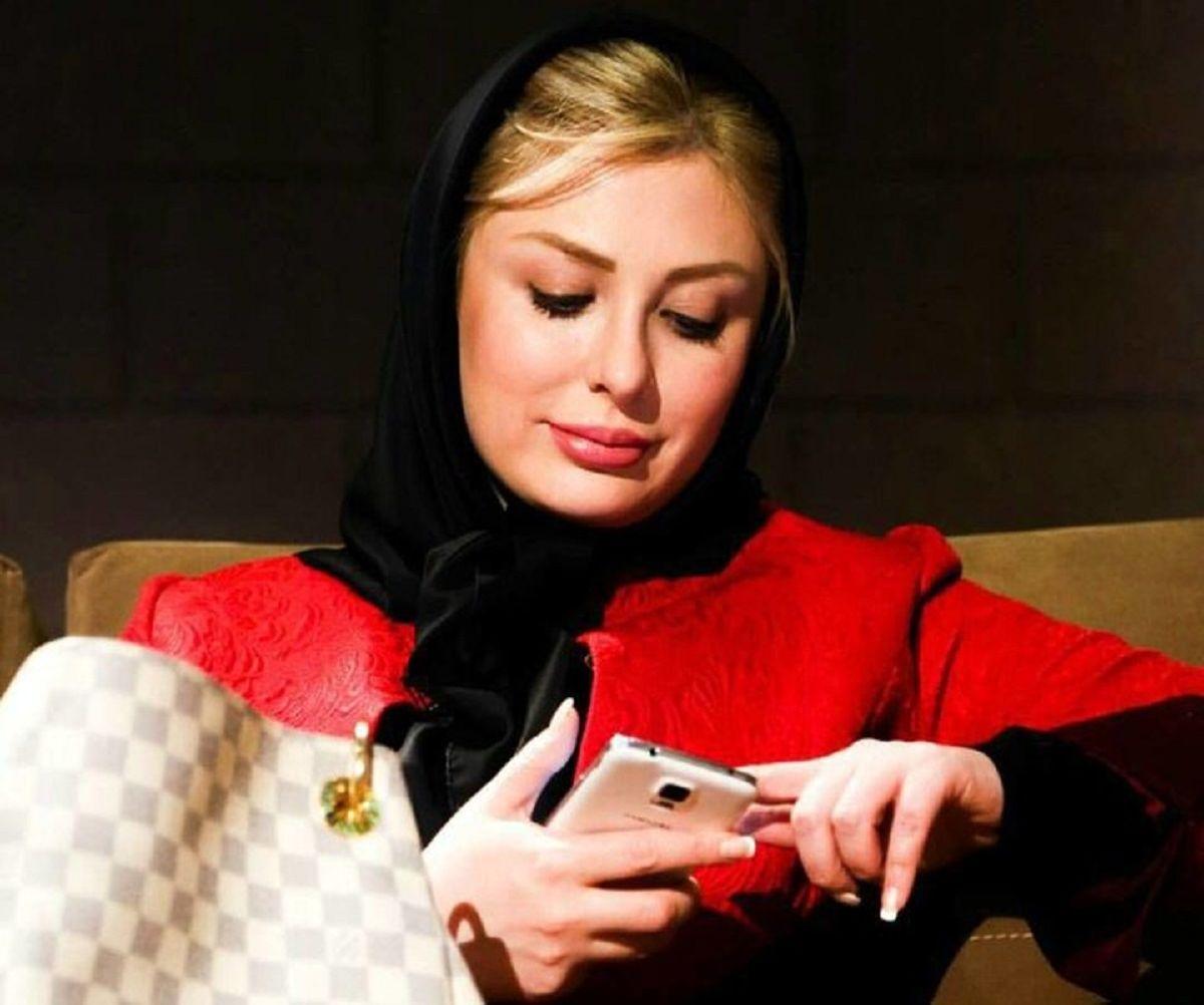 واکنش تند نیوشا ضیغمی به طرح اینترنت ملی + عکس
