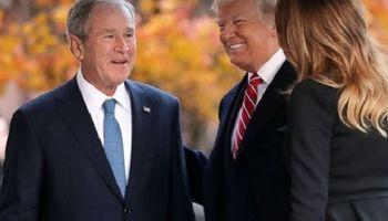انتقاد تند جورج بوش از دونالد ترامپ