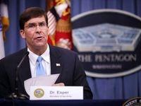 وزیر دفاع آمریکا و معاونش در قرنطینه