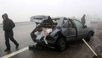 تصادف پژو پارس و پراید در اصفهان ۴ کشته برجا گذاشت