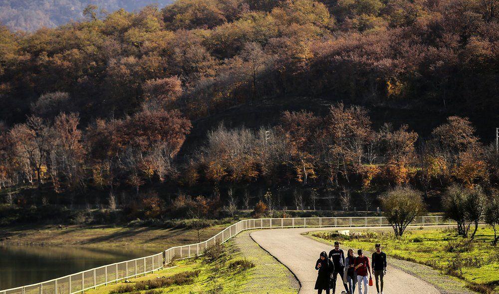 پاییز هزار رنگ گلستان به روایت تصویر