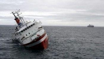 باکو: کشتی ایرانی در خزر دچار حادثه شد