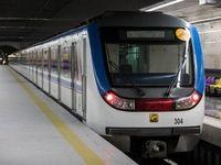 ورود ۳رام قطار به خطوط ۶و ۷متروی تهران