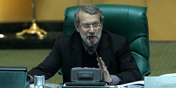 لاریجانی: لازم باشد جلسه غیرعلنی برگزار می کنیم