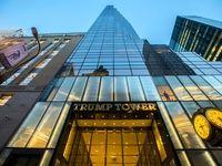 آتش برج ترامپ مهار شد