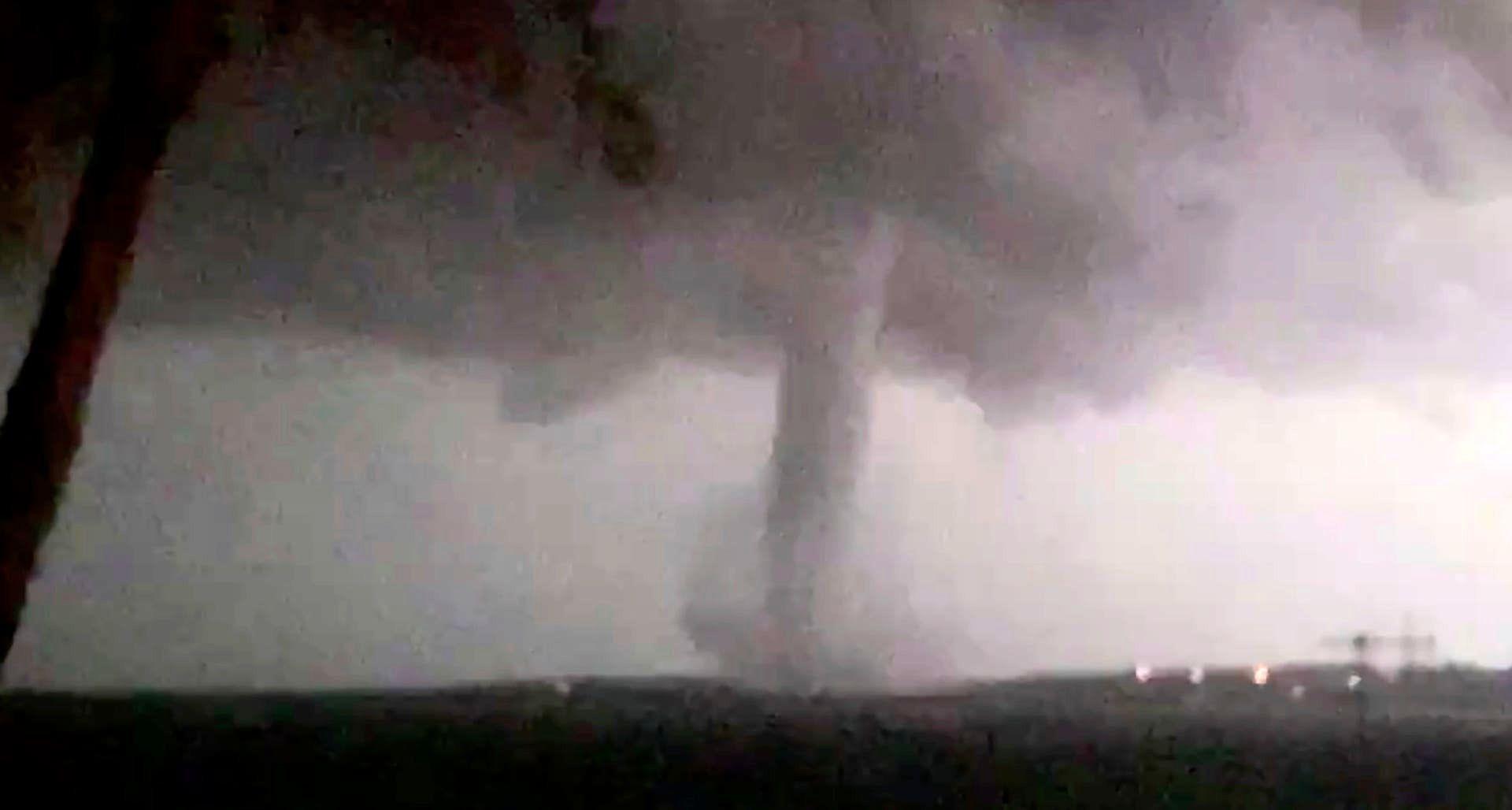 طوفان در دالاس