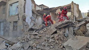ریزش ساختمان در تهران یک کشته داشت