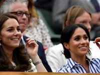 جاریهای سلطنتی در مسابقه تنیس +تصاویر