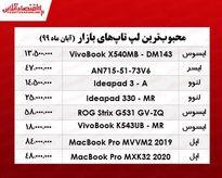 قیمت محبوبترین لپ تاپهای بازار  +جدول