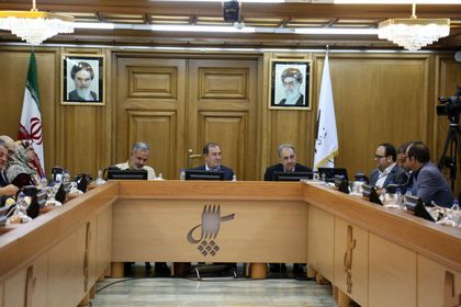 تصاویر اختصاصی اقتصاد آنلاین از جلسه ارائه برنامه شهردار تهران