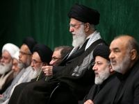 آخرین شب مراسم عزاداری محرم در حسینیه امام برگزار شد