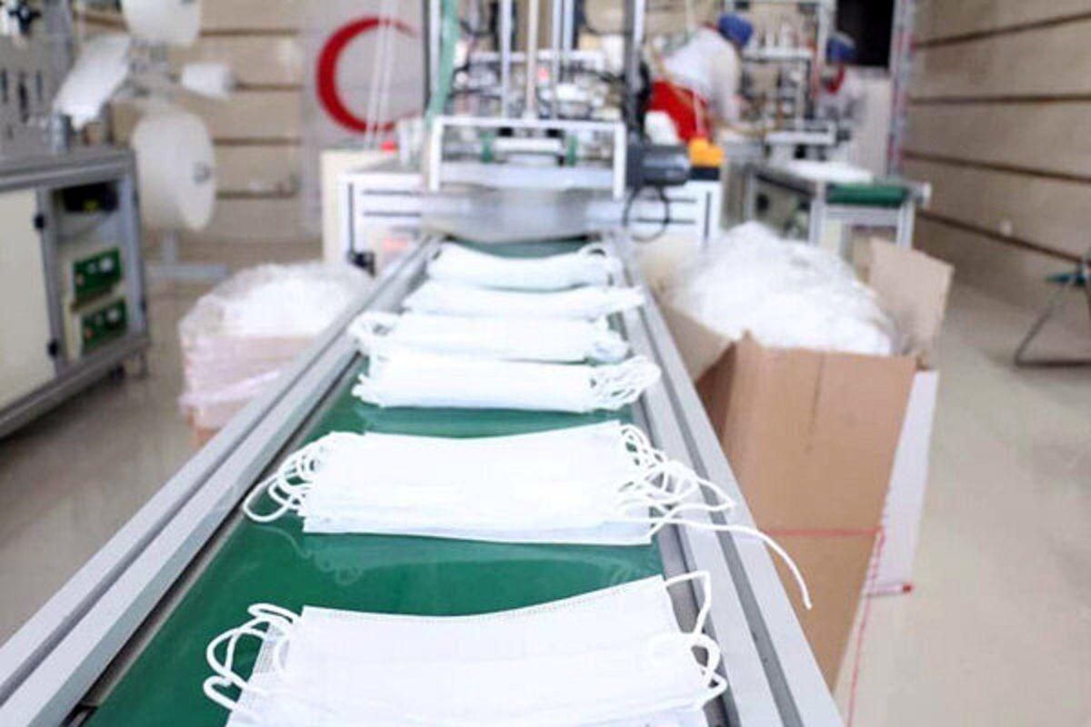 تولید ماسک در کشور افزایش یافت