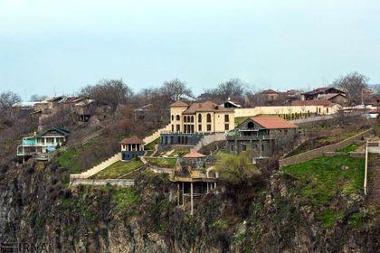 معبدی در ارمنستان که به دستور پادشاه اشکانی ساخته شد +تصاویر