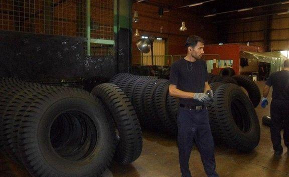 کامیونداران لاستیک ارزان میگیرند