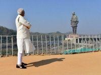 رونمایی از بلندترین مجسمه جهان در هند +تصاویر