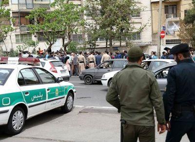 تجمع مالباختگان موسسهکاسپین مقابل وزارتکشور +عکس
