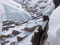 بارش اولین برف پاییزی در کردستان +عکس