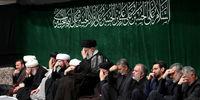 برگزاری مراسم عزاداری شب تاسوعا با حضور رهبر انقلاب