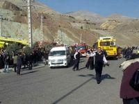 سکته راننده اتوبوس حادثه دانشگاه آزاد تأیید نشد