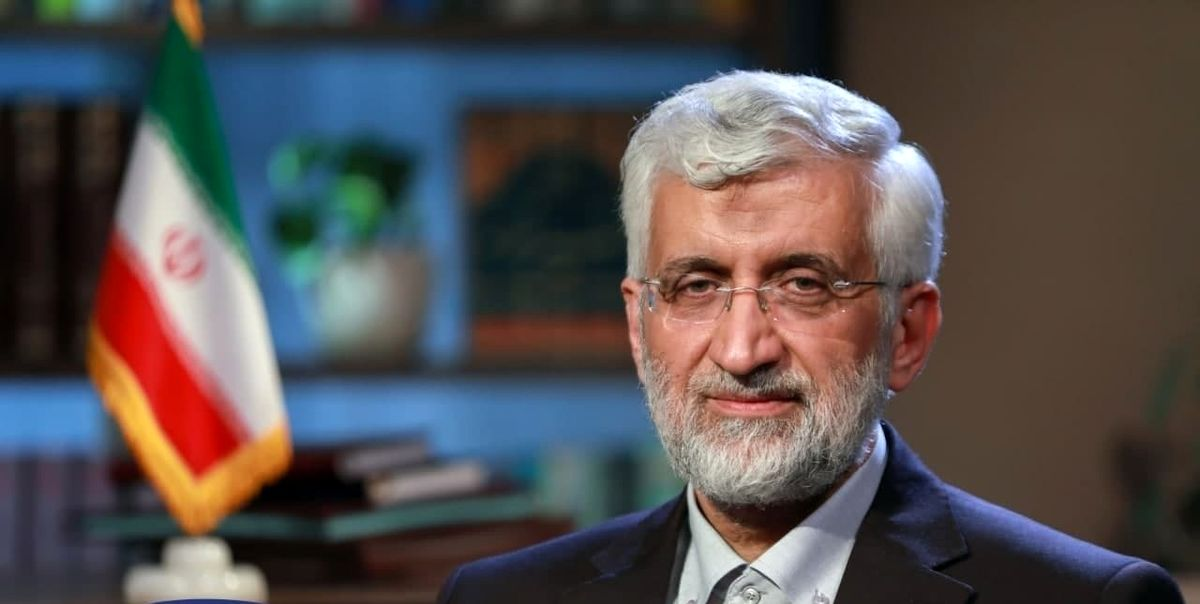 شعار ستاد انتخاباتی سعید جلیلی مشخص شد