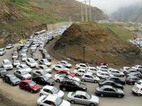 ترافیک ۲۵ کیلومتری در رودبار
