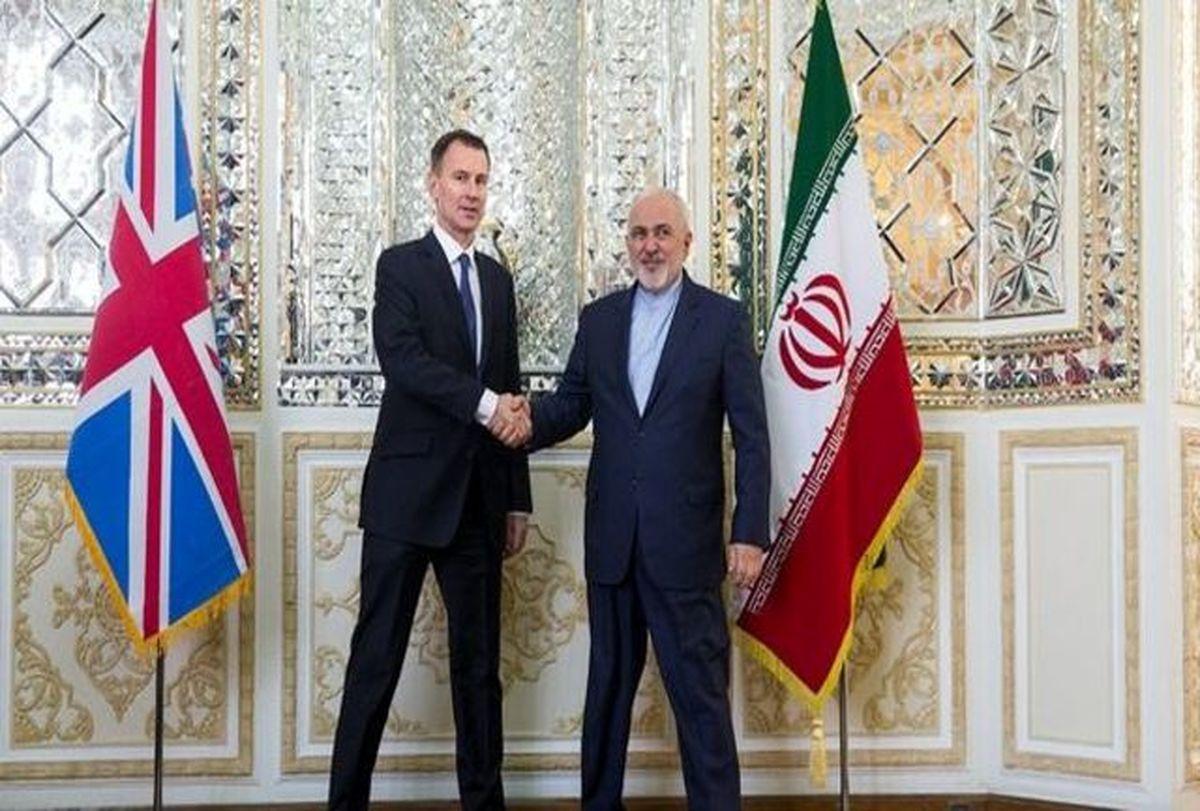 توییت ظریف درباره دیدار با همتای بریتانیایی